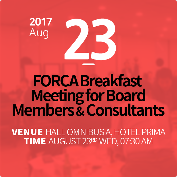 FORCA Breakfast Meeting for Board Members & Consultants